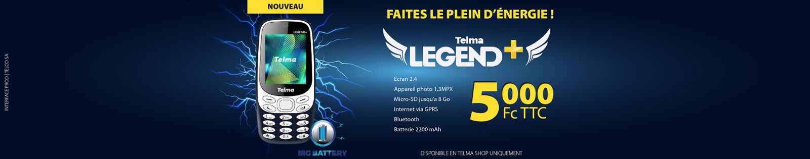 Telma legend+