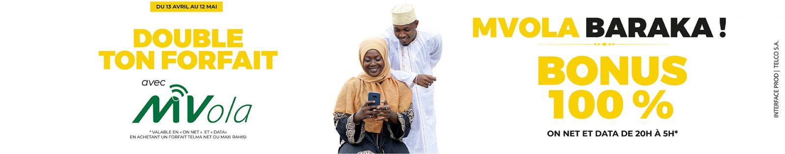 Bonus MVola Ramadan 2021