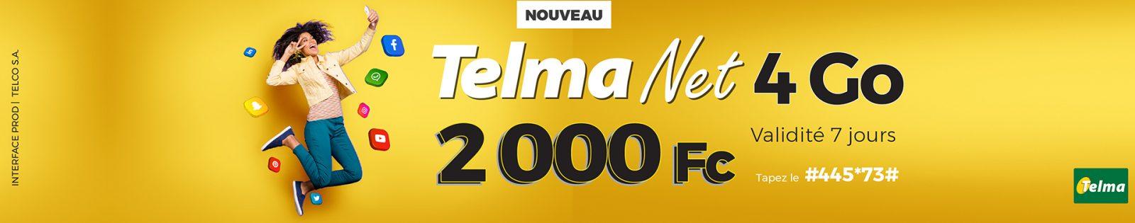 Telma Net Août 2021